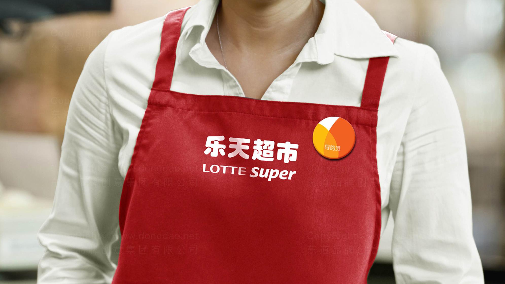 品牌设计乐天超市LOGO&VI设计应用场景_4