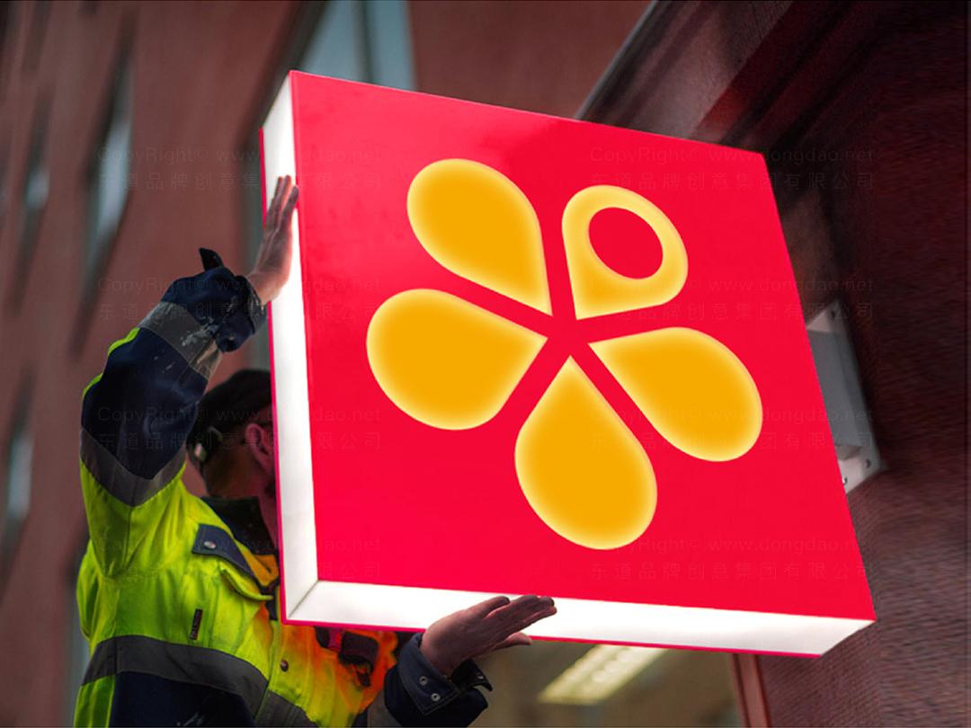 品牌设计梅尼超市logo设计、vi设计应用场景_9