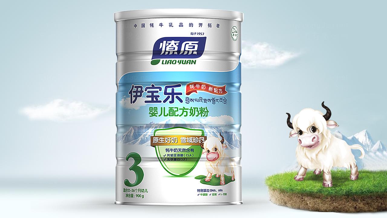产品包装案例燎原乳业产品全案