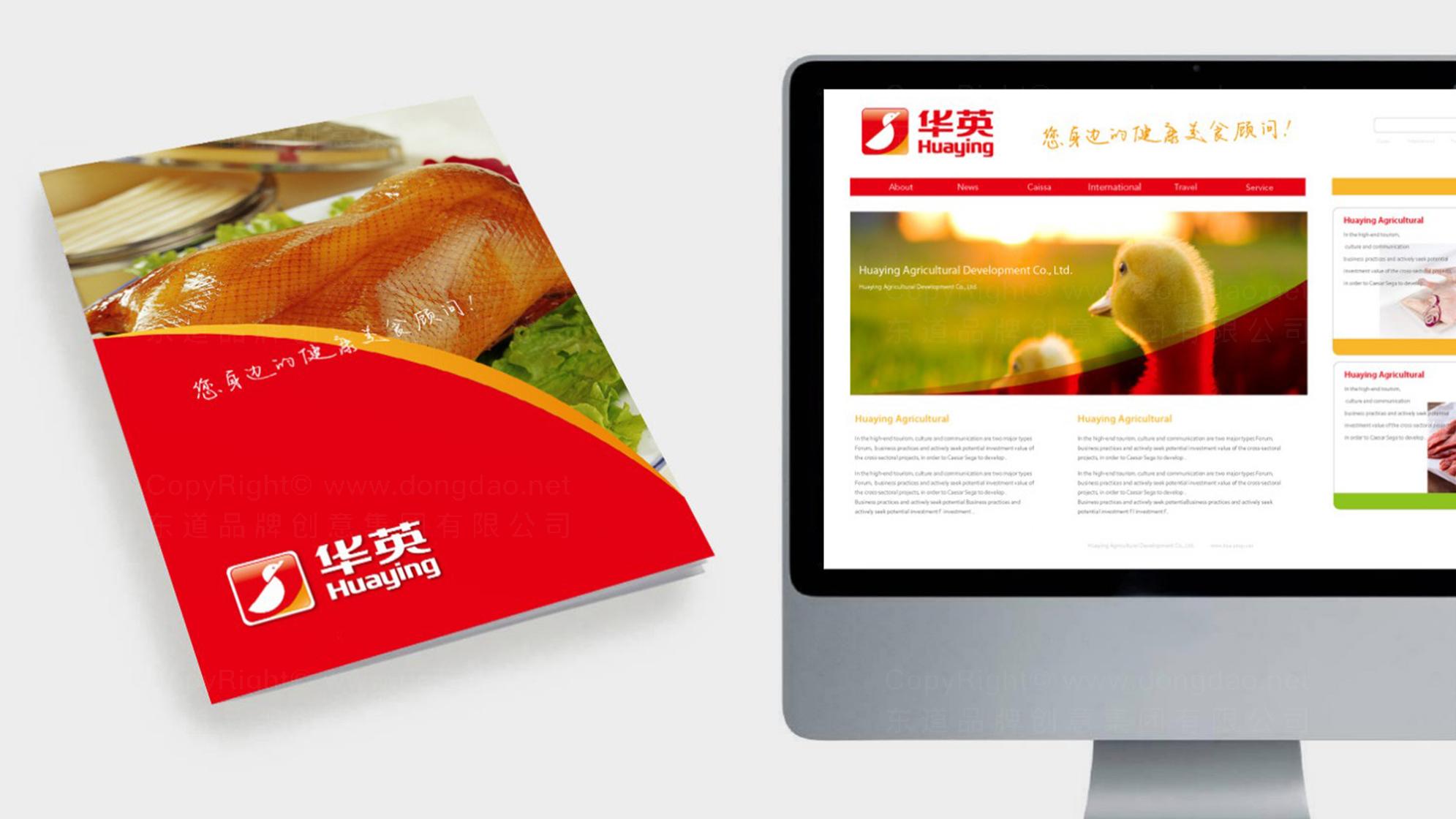 品牌设计华英农业LOGO&VI设计应用