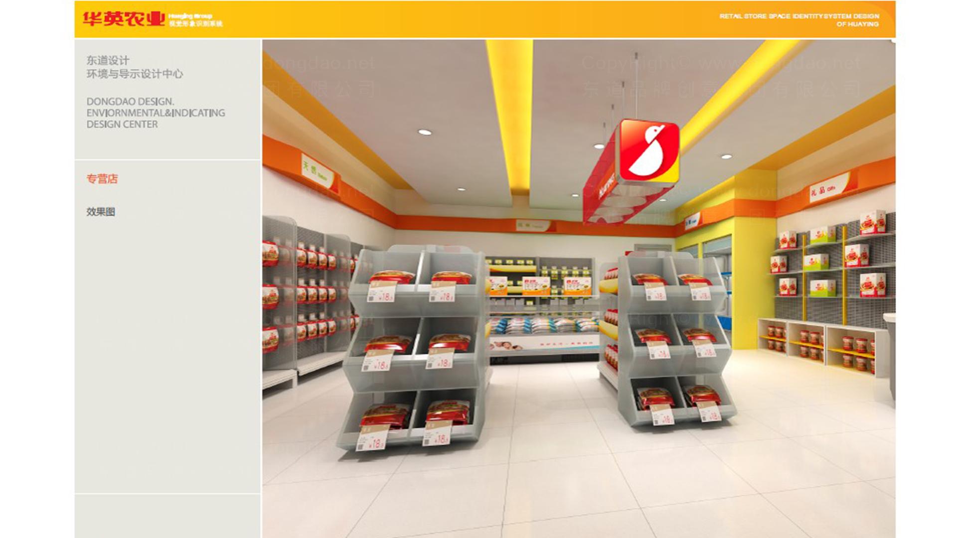 商业空间&导示案例华英农业SI设计