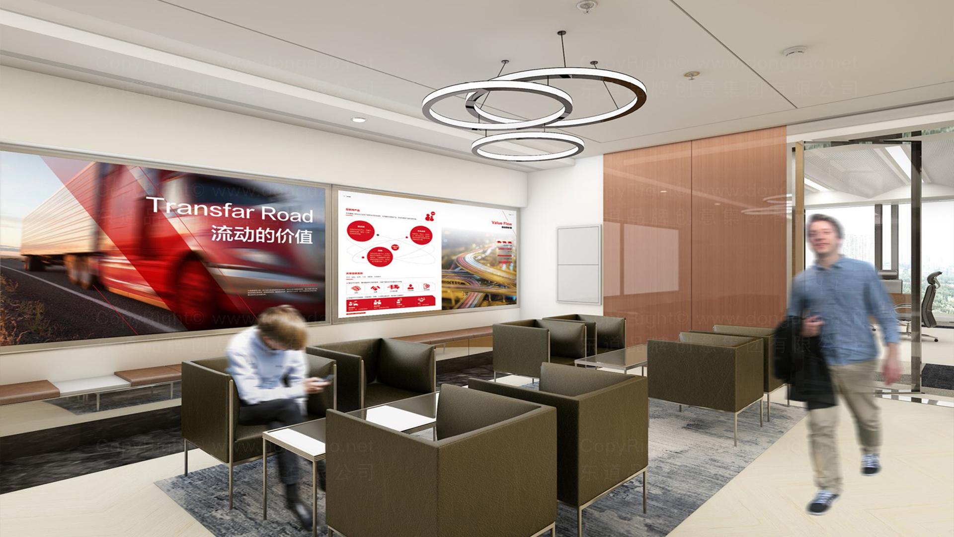 商业空间&导示传化支付展厅设计应用场景_8