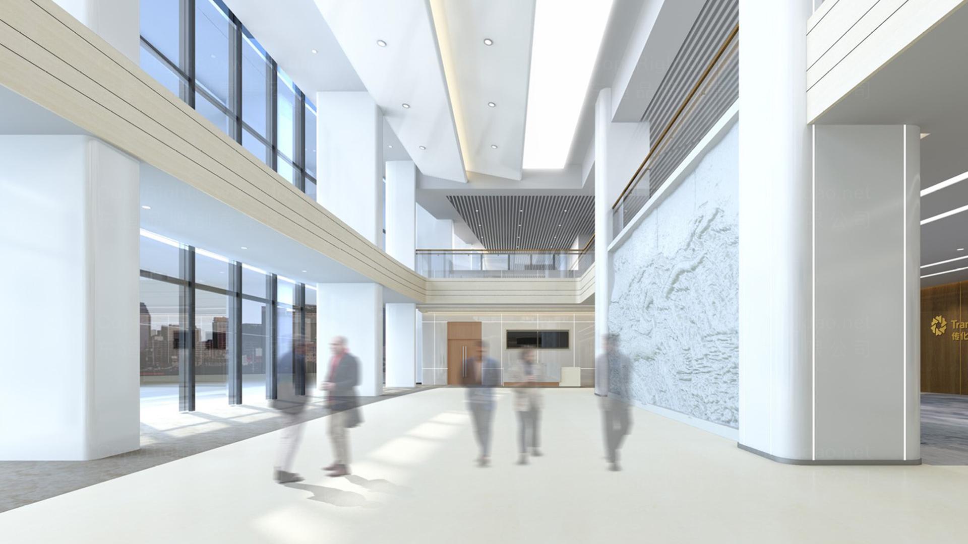多元化商业空间&导示传化支付展厅设计