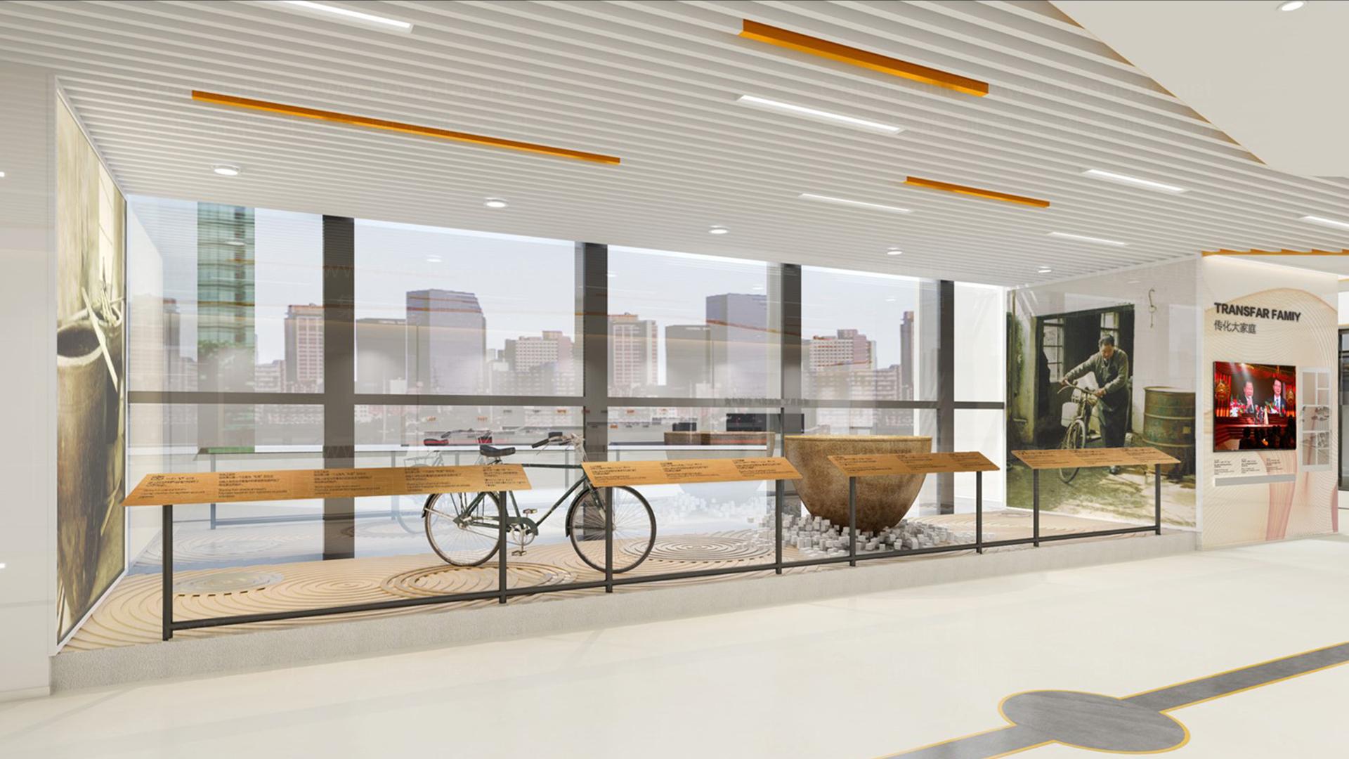 商业空间&导示传化支付展厅设计应用场景