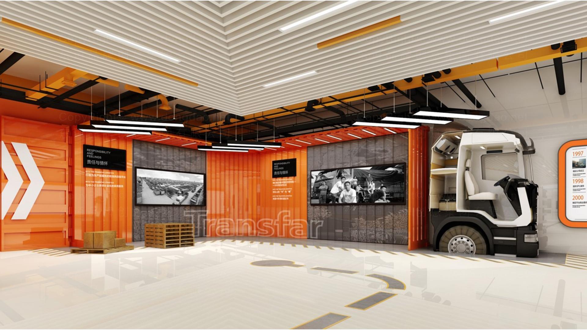 商业空间&导示传化支付展厅设计应用场景_1