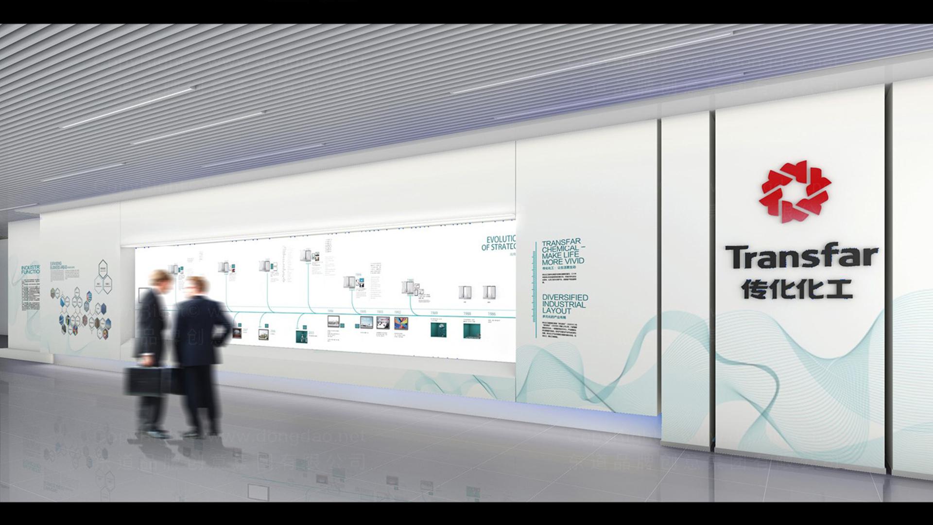 商业空间&导示传化支付展厅设计应用场景_2