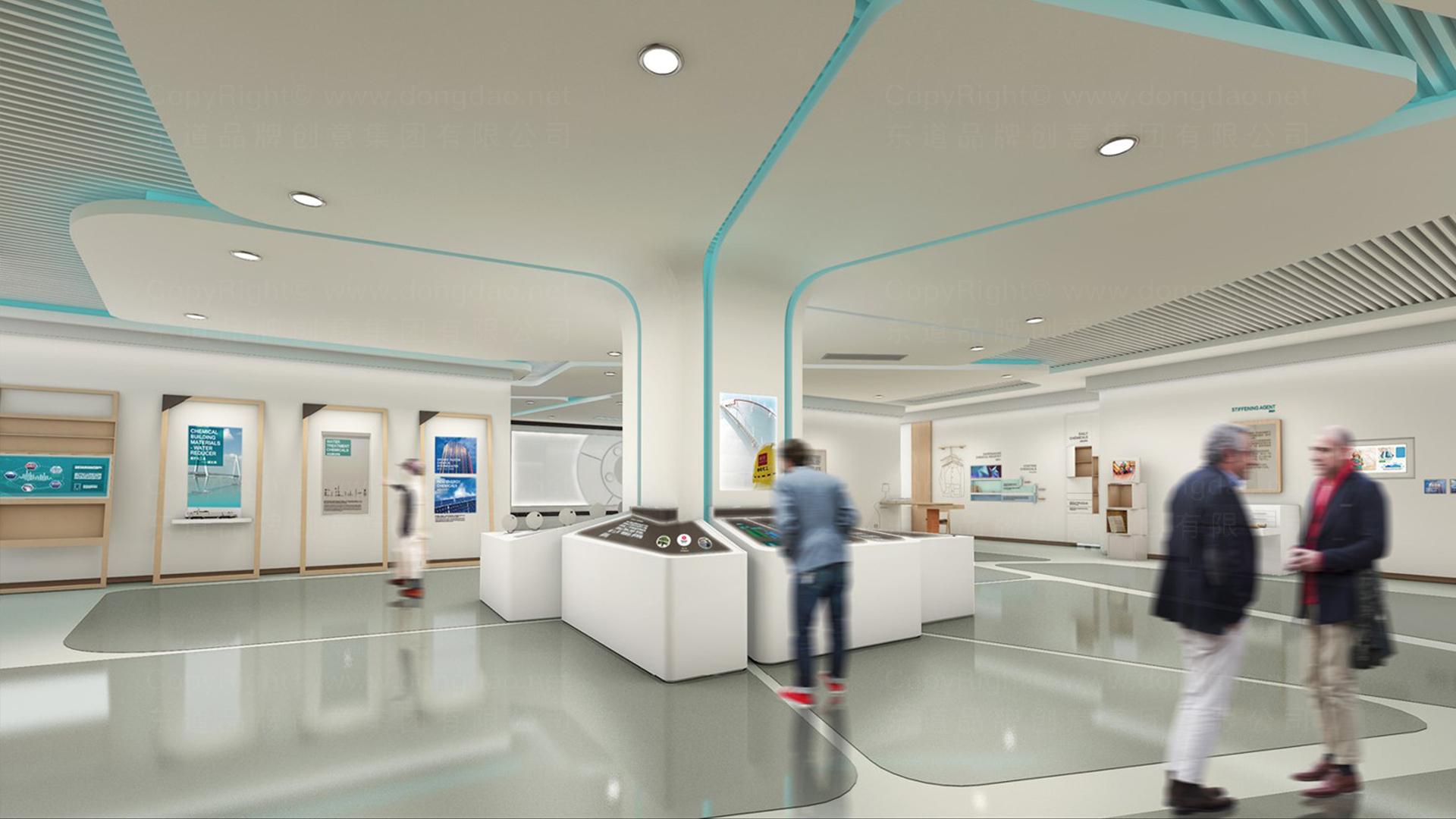 商业空间&导示传化支付展厅设计应用场景_4