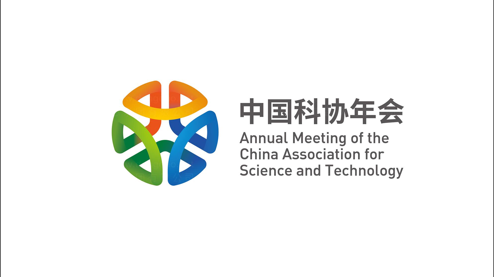 品牌设计中国科协年会LOGO设计应用