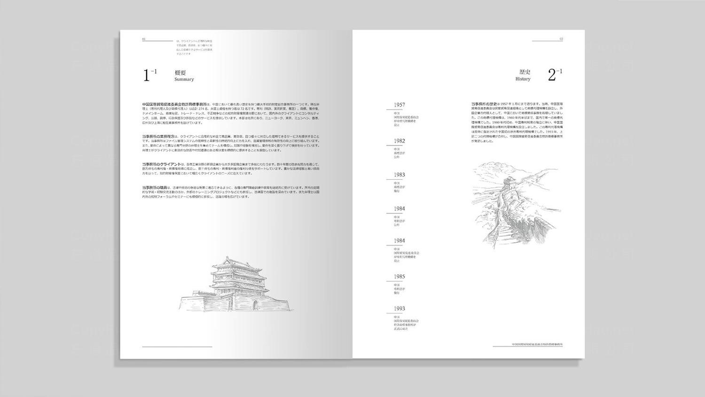 视觉传达中国贸促会专利商标事务所画册设计应用