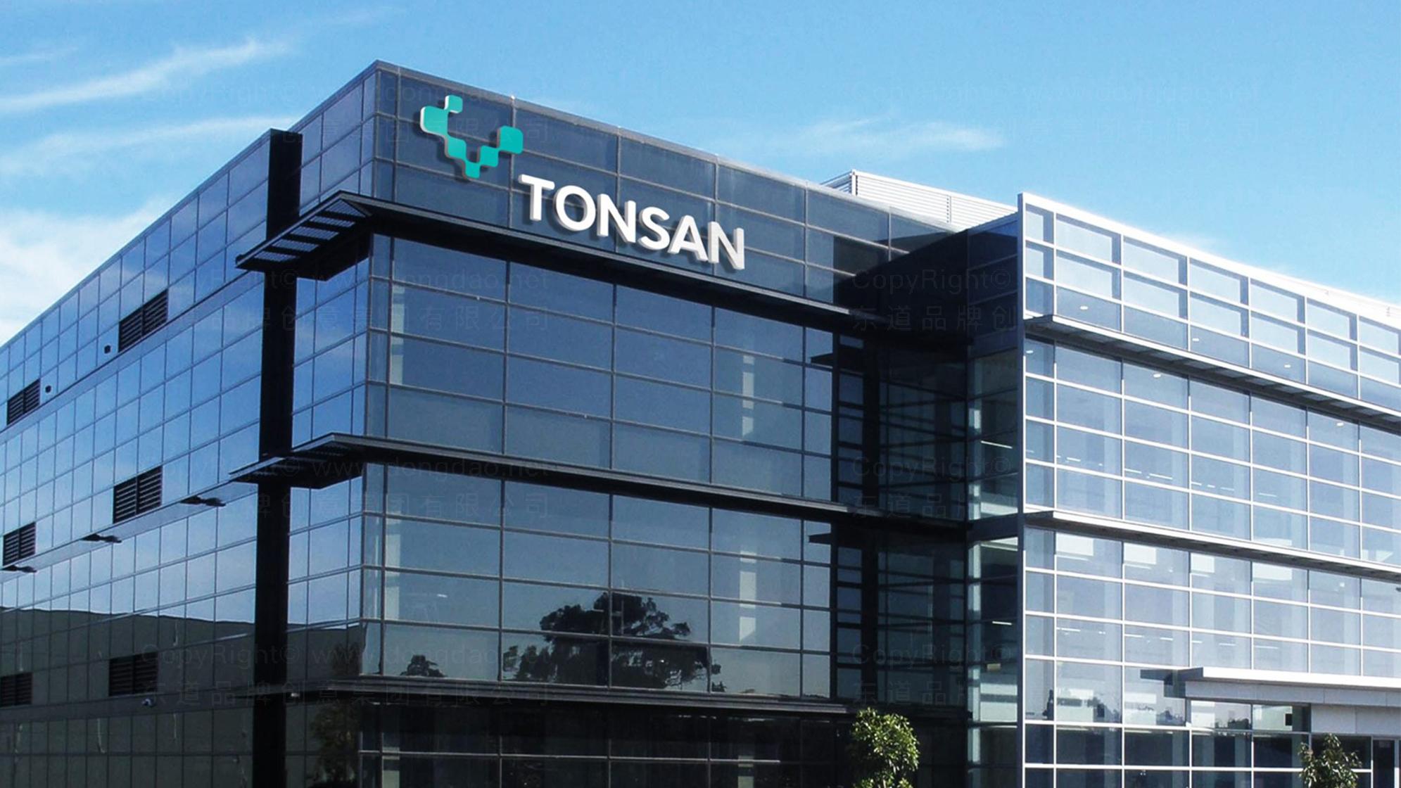 品牌设计案例TONSAN工业胶水LOGO&VI设计