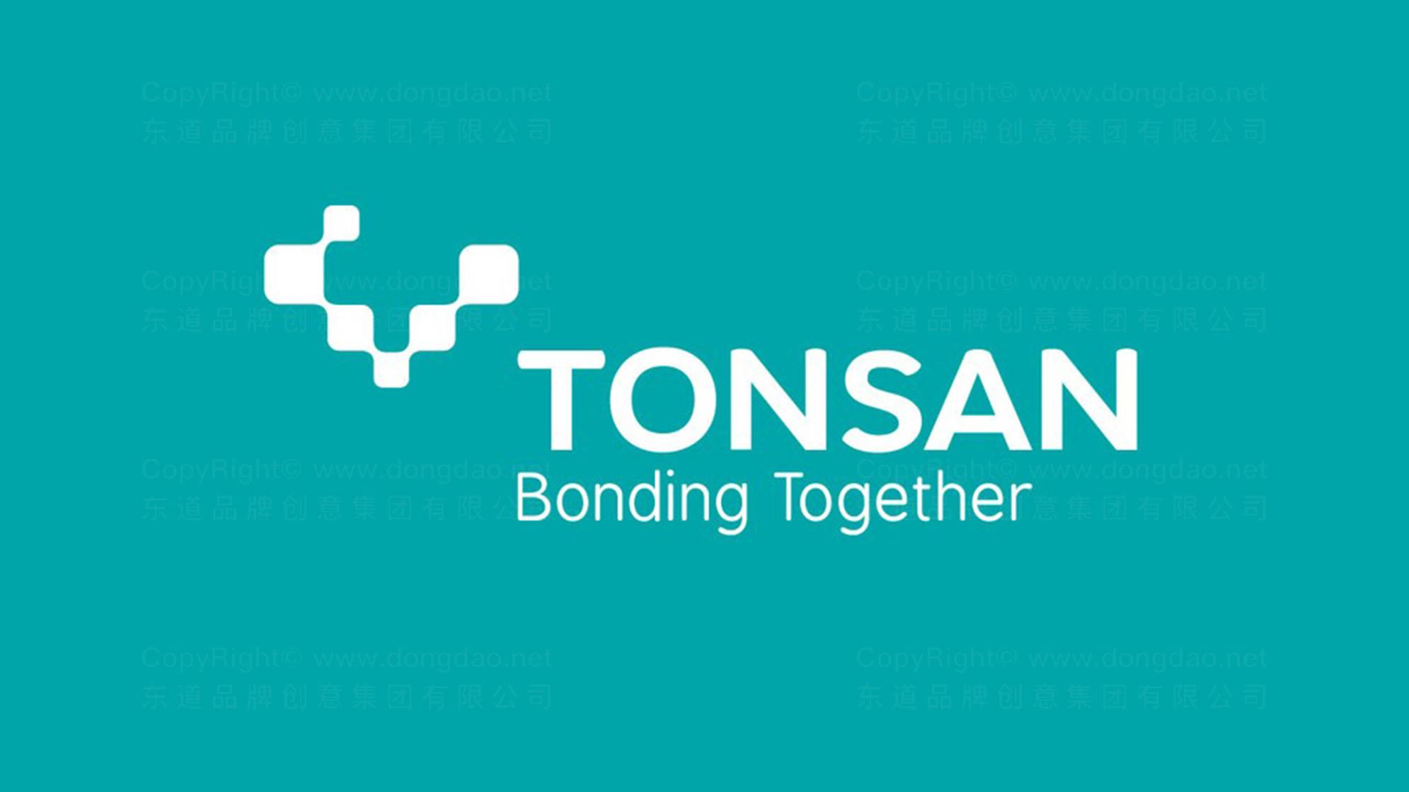 品牌设计TONSAN工业胶水LOGO&VI设计应用