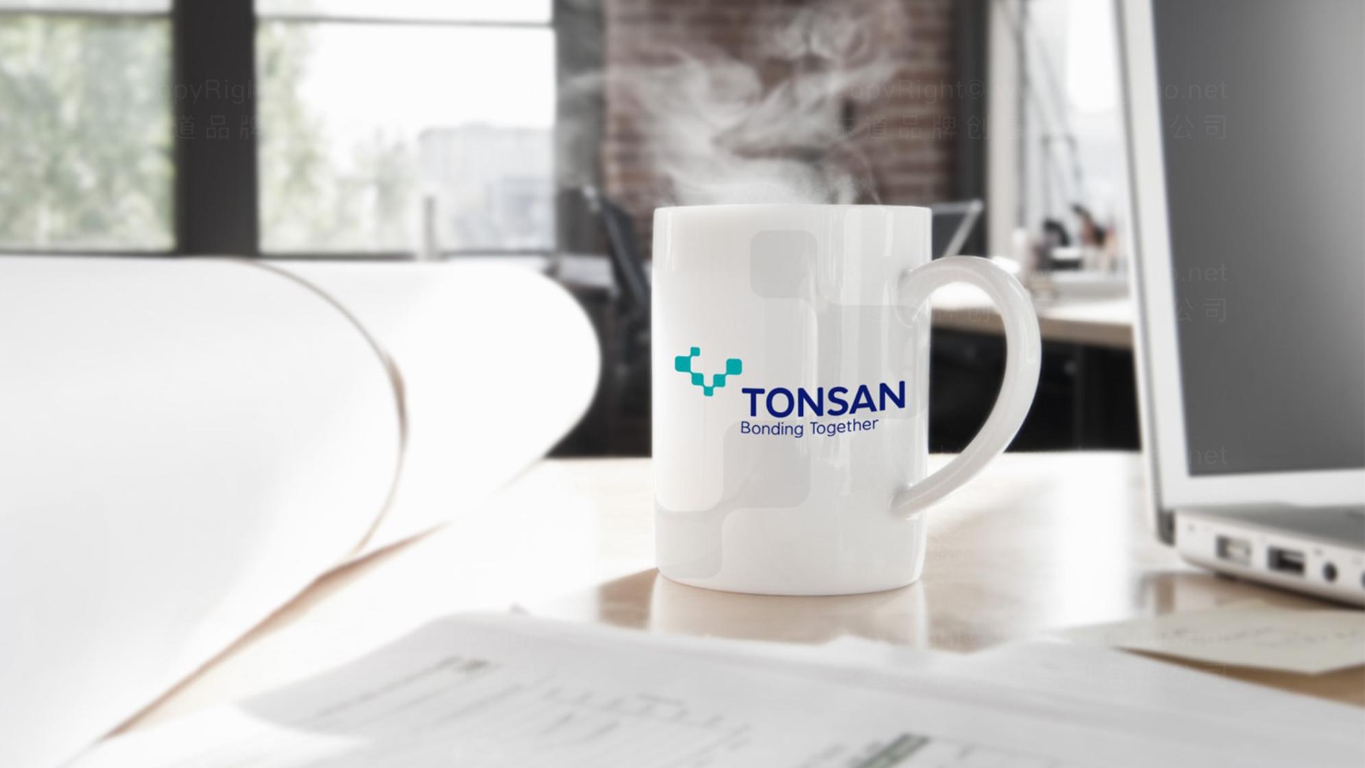 品牌设计TONSAN工业胶水LOGO&VI设计应用场景_1