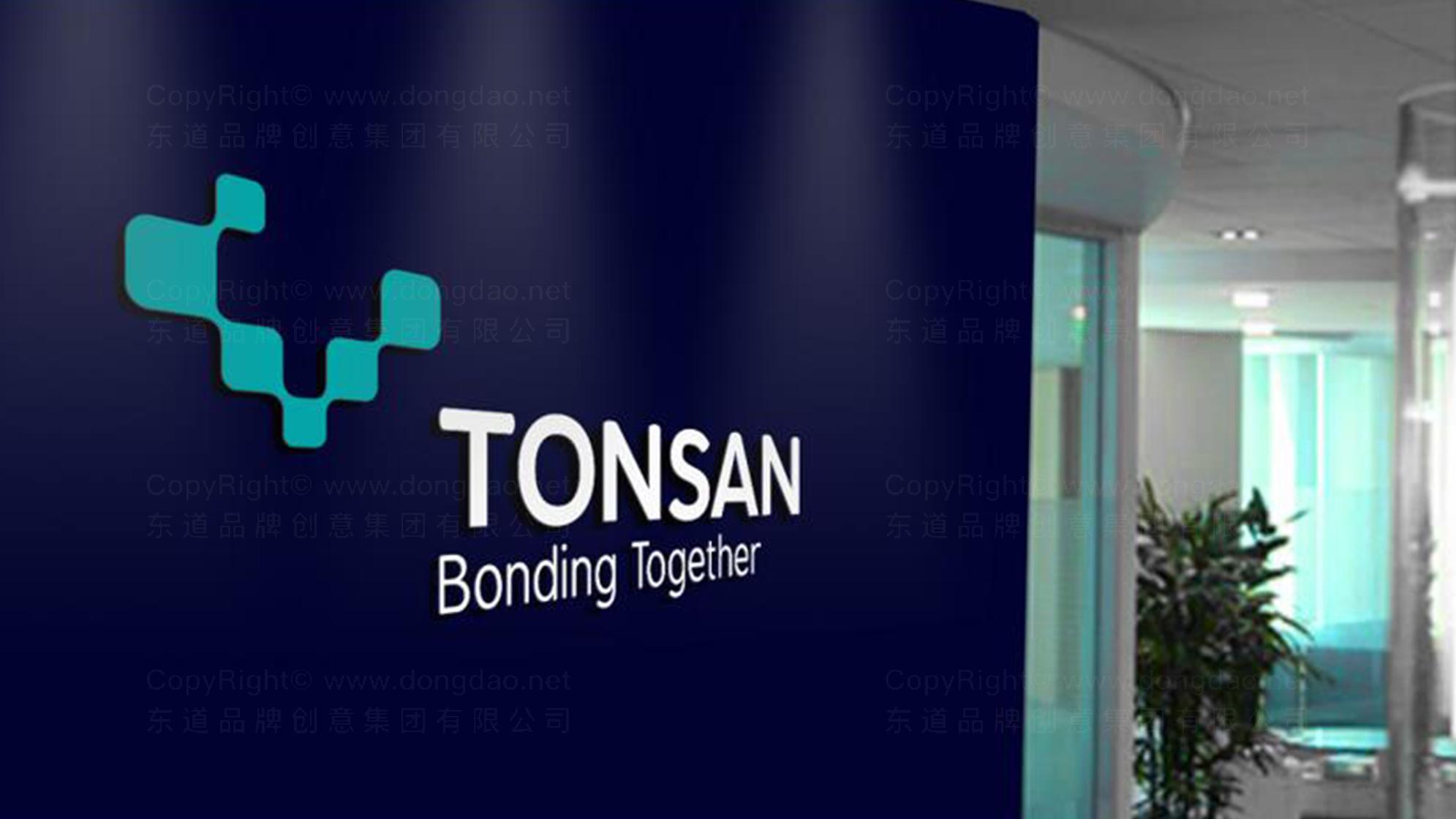 品牌设计TONSAN工业胶水LOGO&VI设计应用场景_4