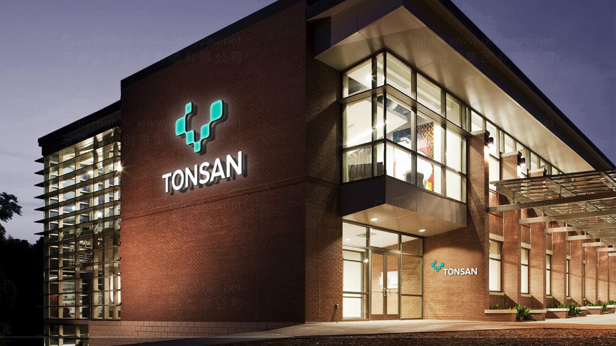 品牌设计TONSAN工业胶水LOGO&VI设计应用场景_5