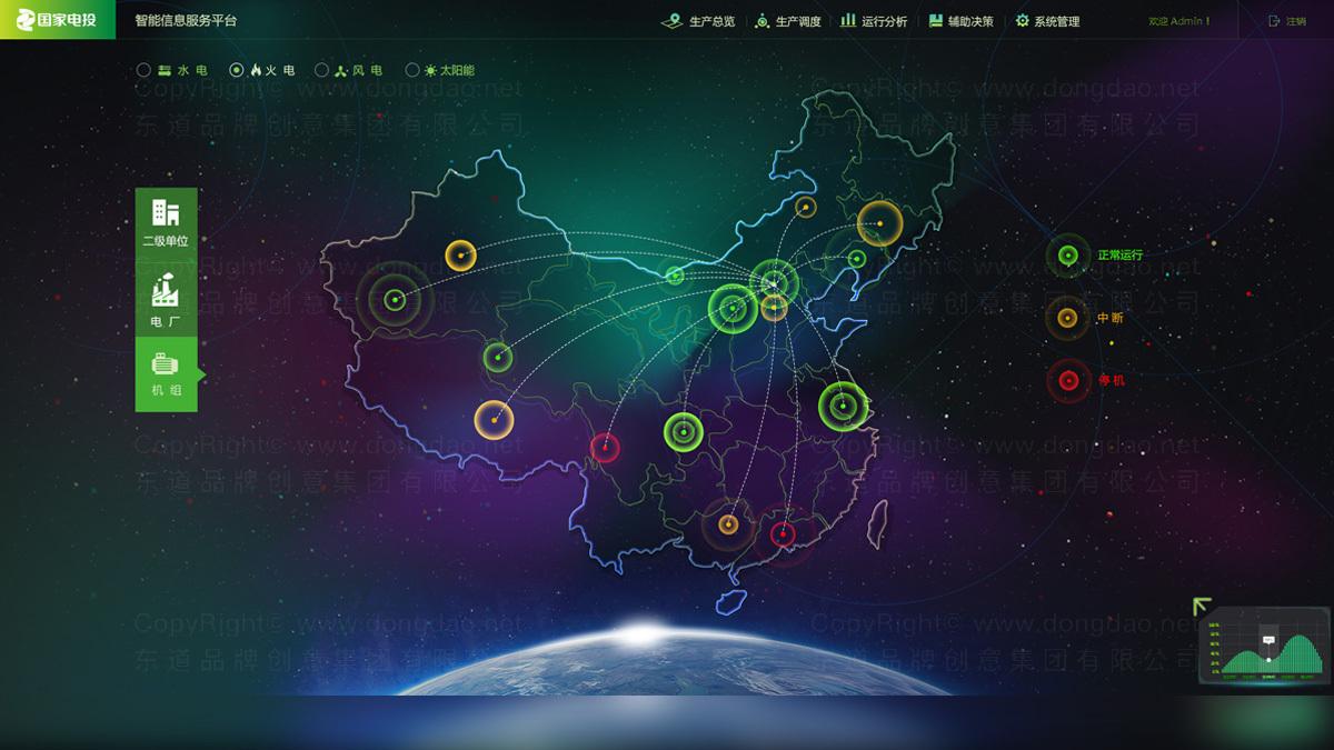 能源材料东道数字北京国电网站设计