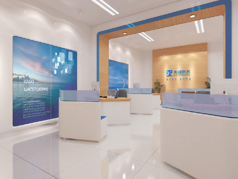 商业空间&导示无锡市自来水SI设计应用场景