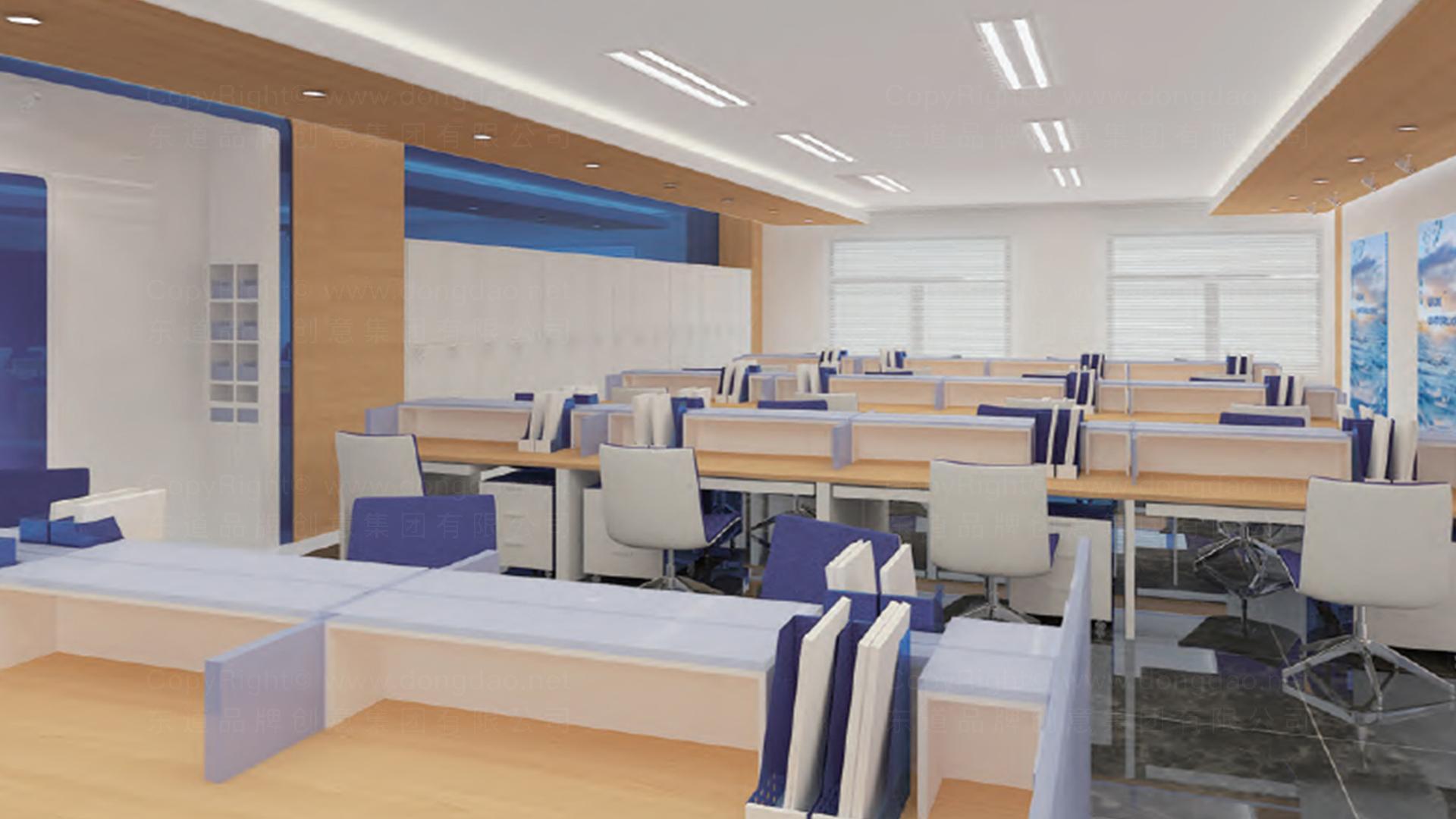 商业空间&导示案例无锡市自来水SI设计