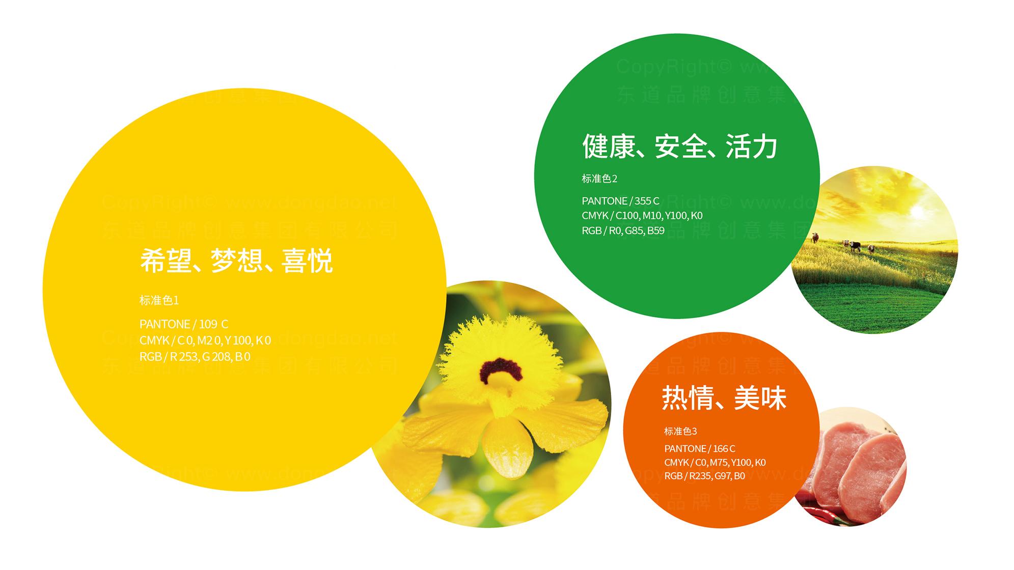 品牌设计新希望食品LOGO&VI设计应用