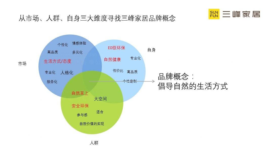 旅游生活三峰家居品牌策略规划