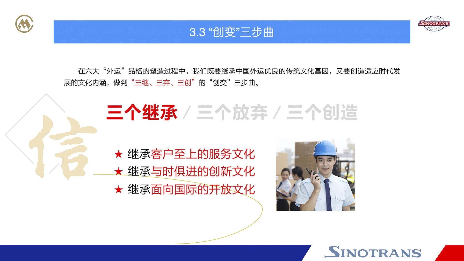 品牌战略&企业文化中国外运企业文化落地项目企业文化手册应用场景_6