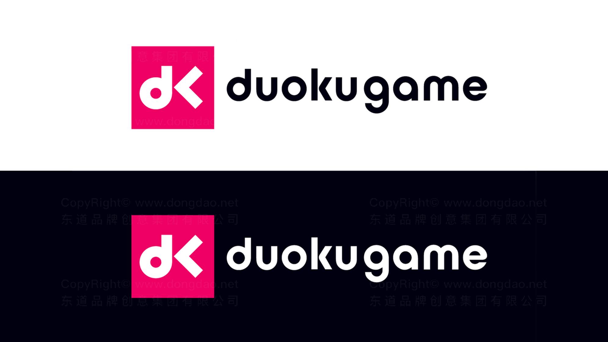 品牌设计多酷游戏LOGO&VI设计应用场景_2