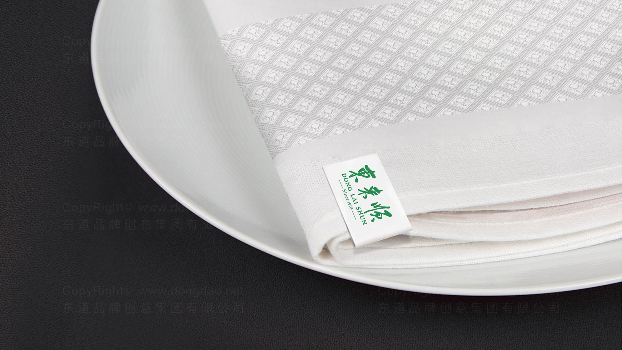 品牌设计东来顺LOGO优化&VI设计应用场景_6