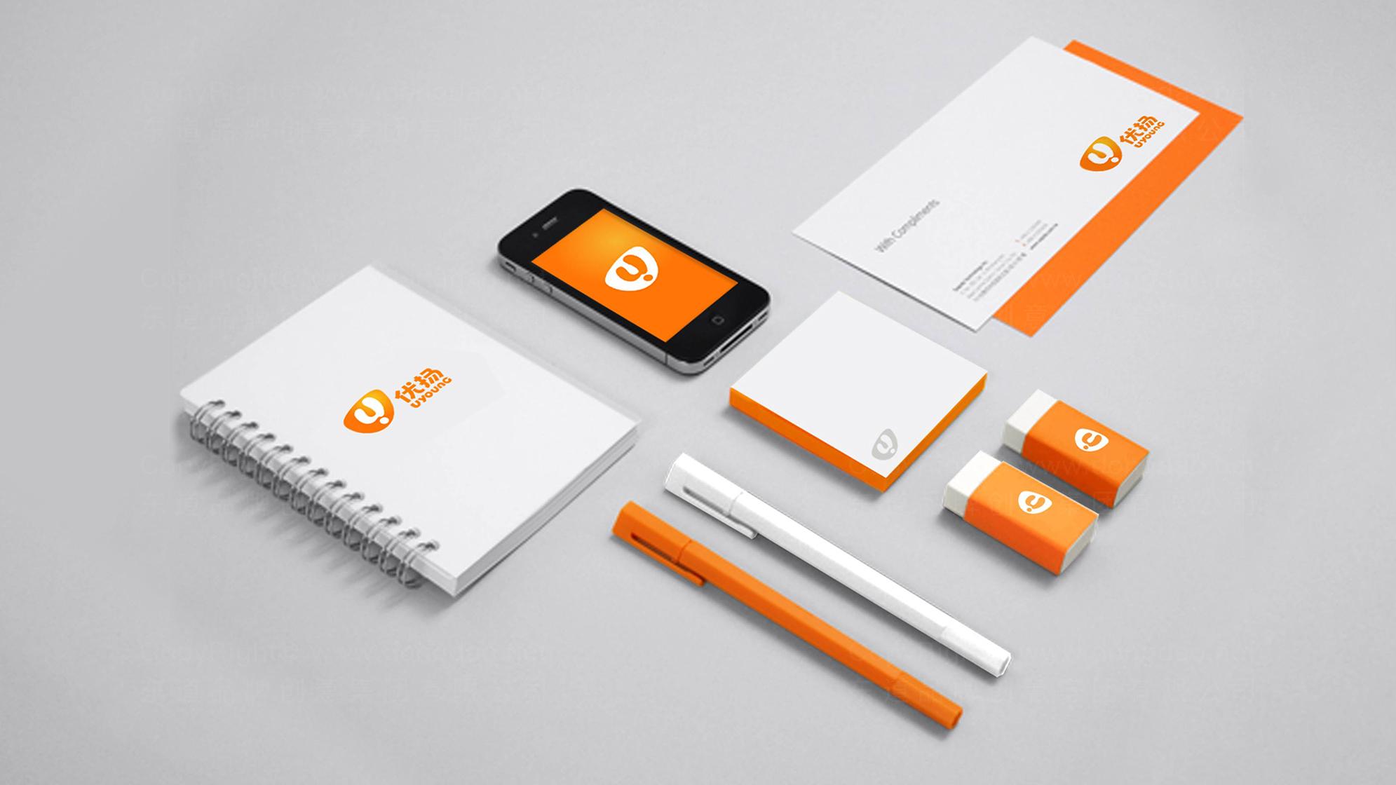 品牌设计优扬传媒LOGO&VI设计应用场景_8
