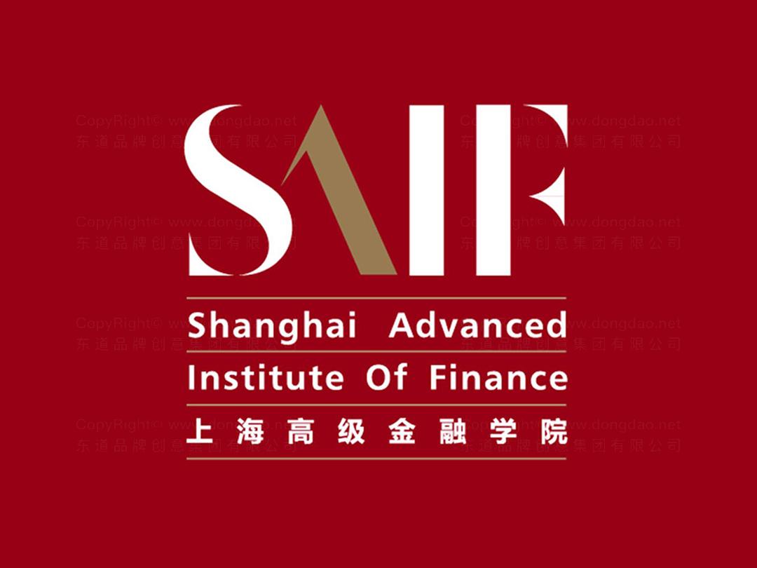 品牌设计上海高级金融学院logo设计、vi设计应用场景_12