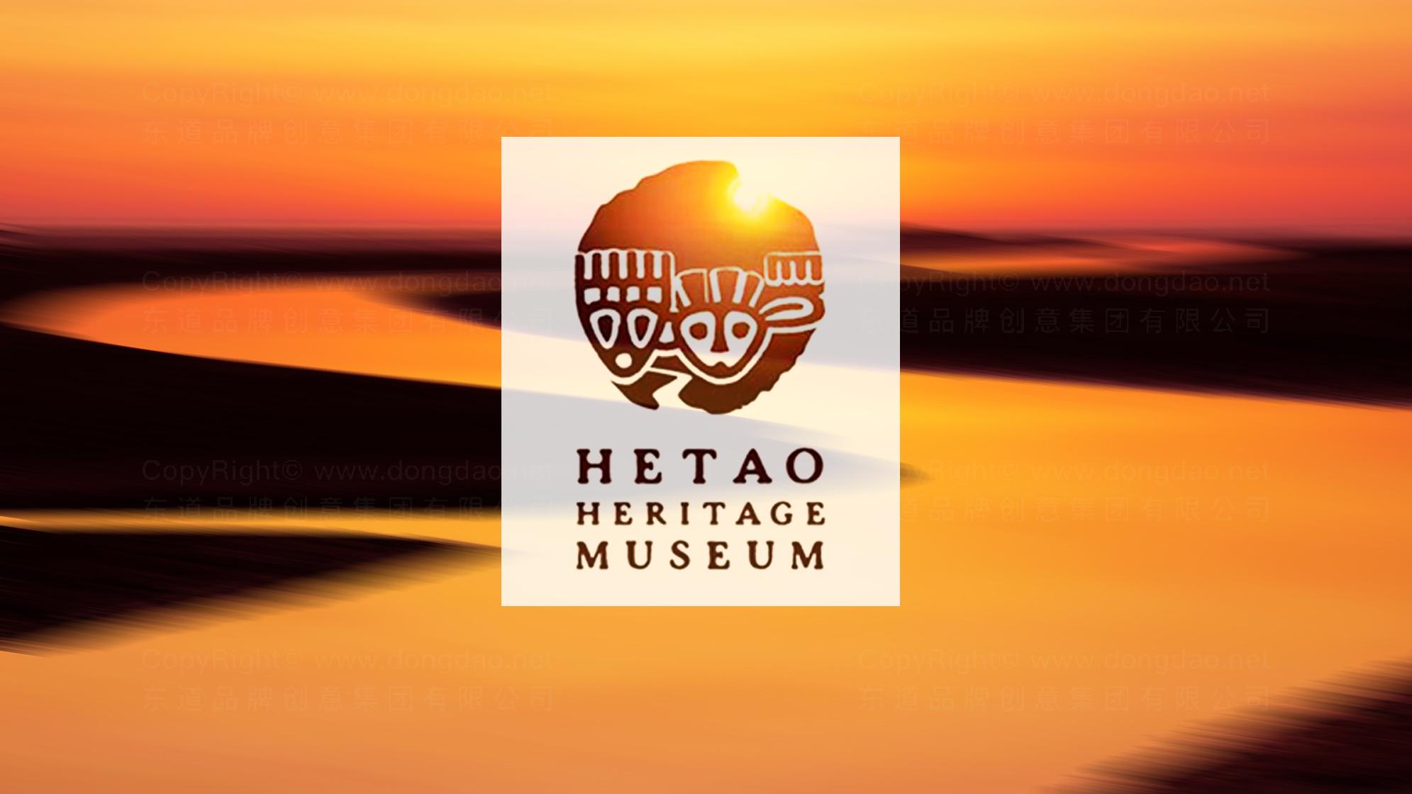 品牌设计案例河套文化博物馆LOGO&VI设计