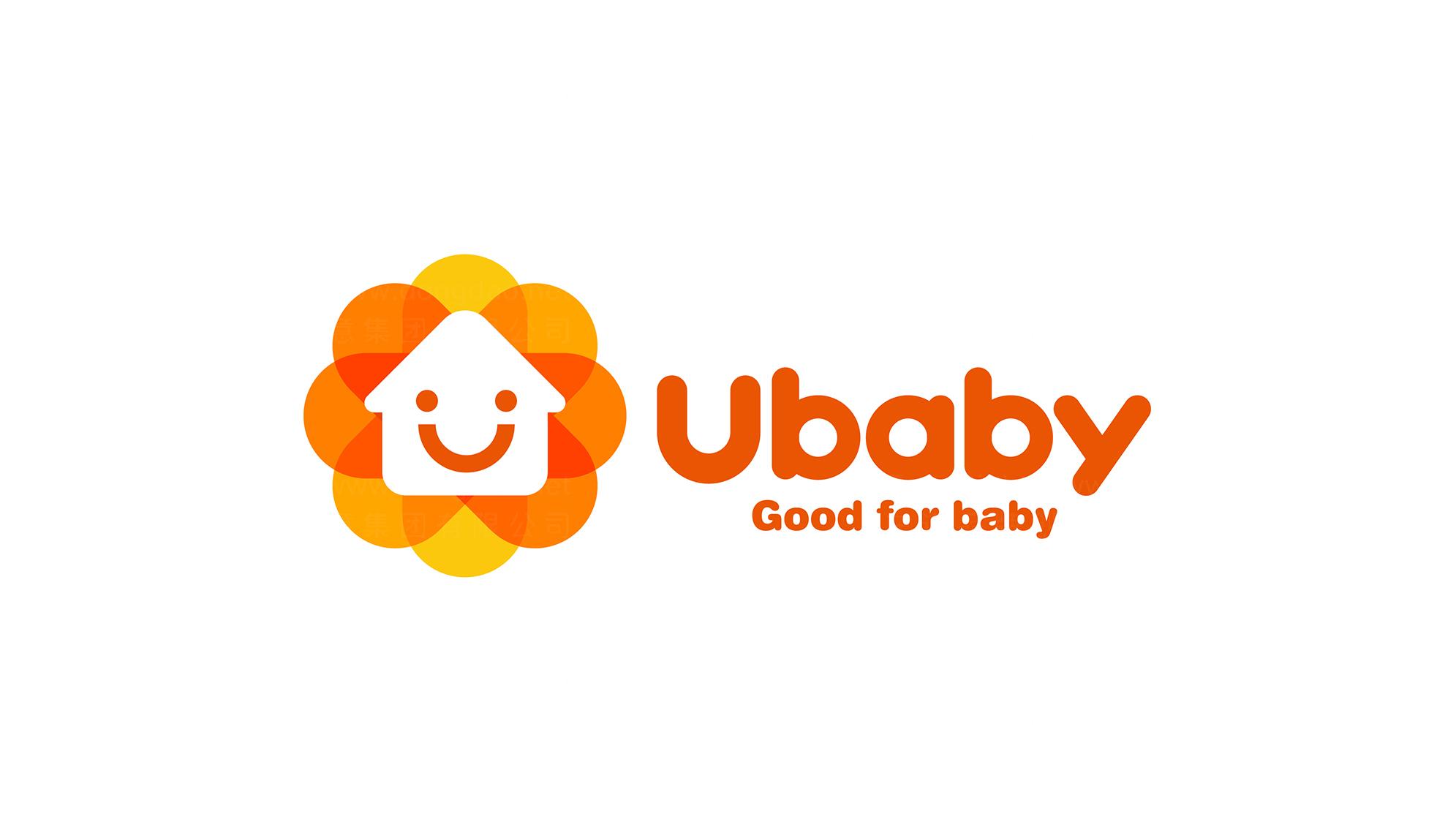 文体娱媒品牌设计ubaby宝贝家LOGO&VI设计