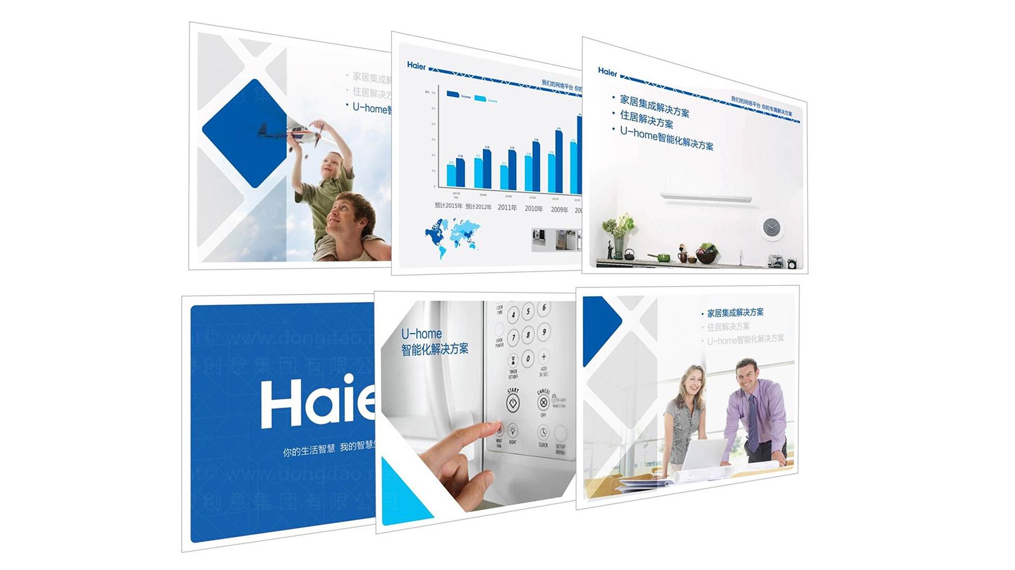 品牌设计海尔VI设计应用场景_2