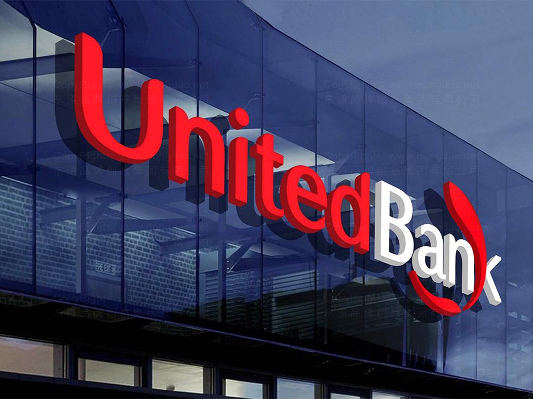 品牌设计联合银行logo设计、vi设计应用场景_7