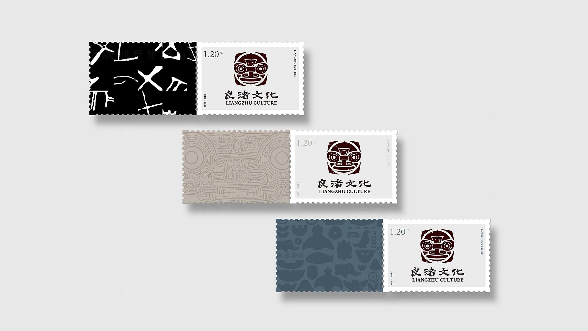品牌设计良渚文化LOGO&VI设计应用场景_4