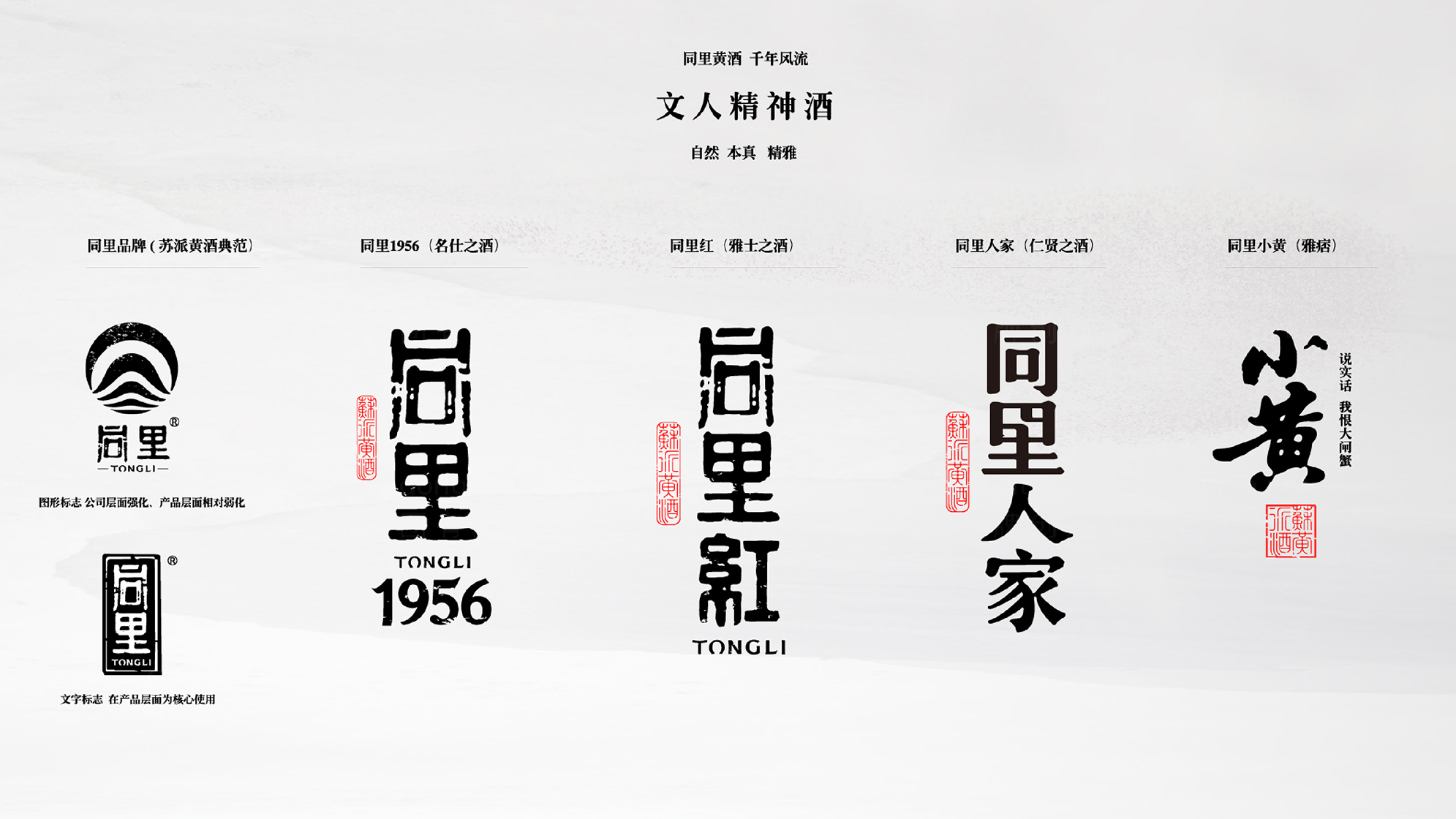品牌设计同里红酿酒LOGO&VI设计应用场景_4