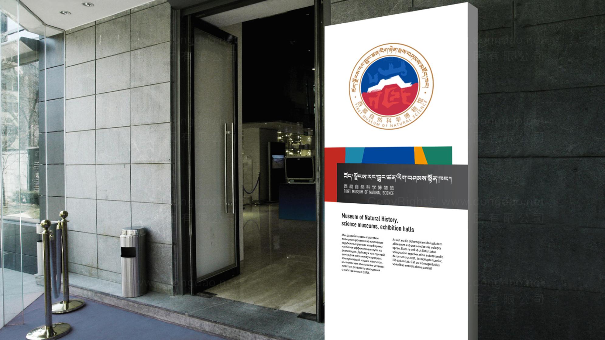 西藏自然科学博物馆LOGO设计应用场景_3