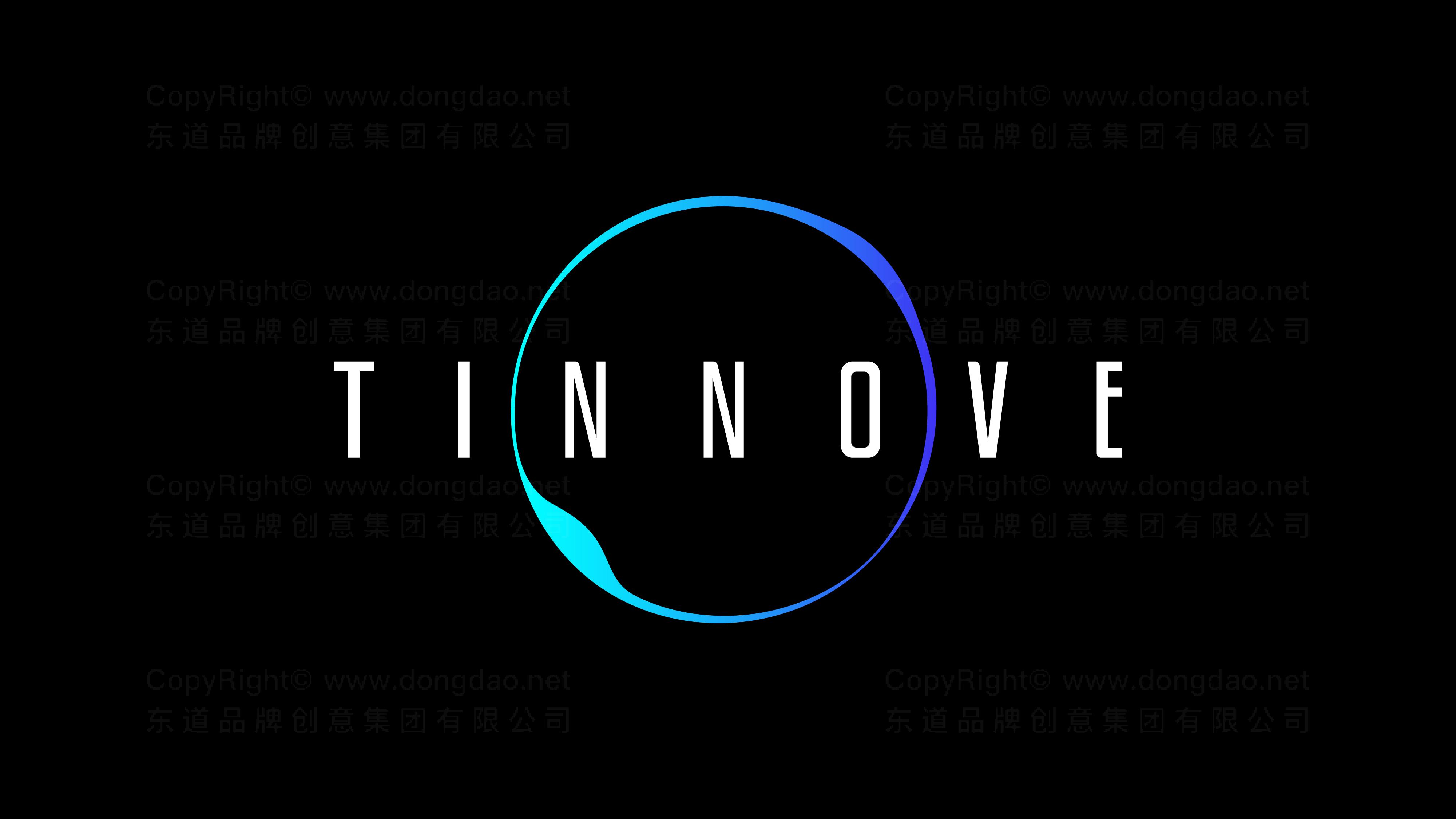 品牌设计案例TINNOVE汽车智能系统LOGO&VI设计