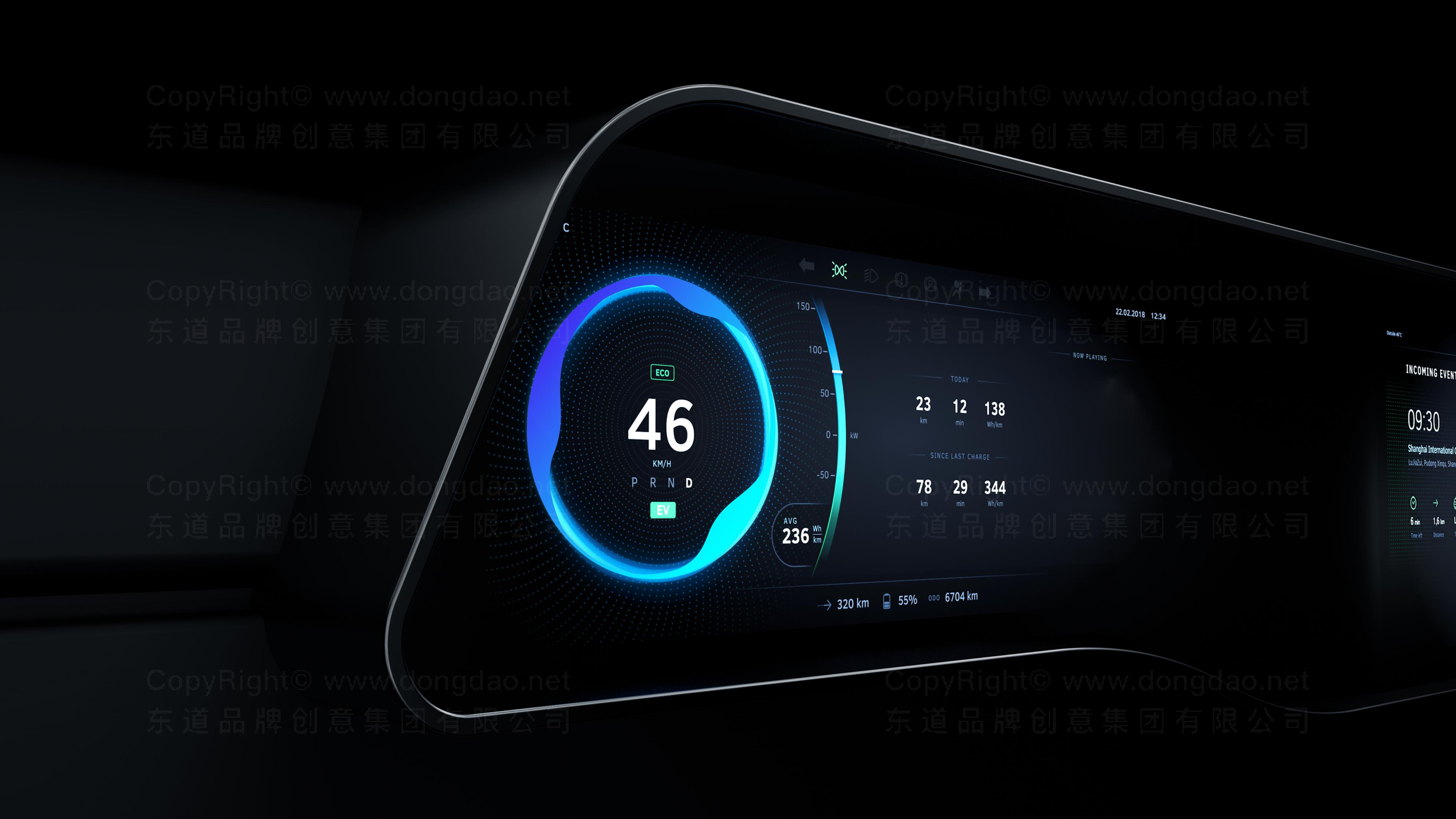 品牌设计TINNOVE汽车智能系统LOGO&VI设计应用场景_6