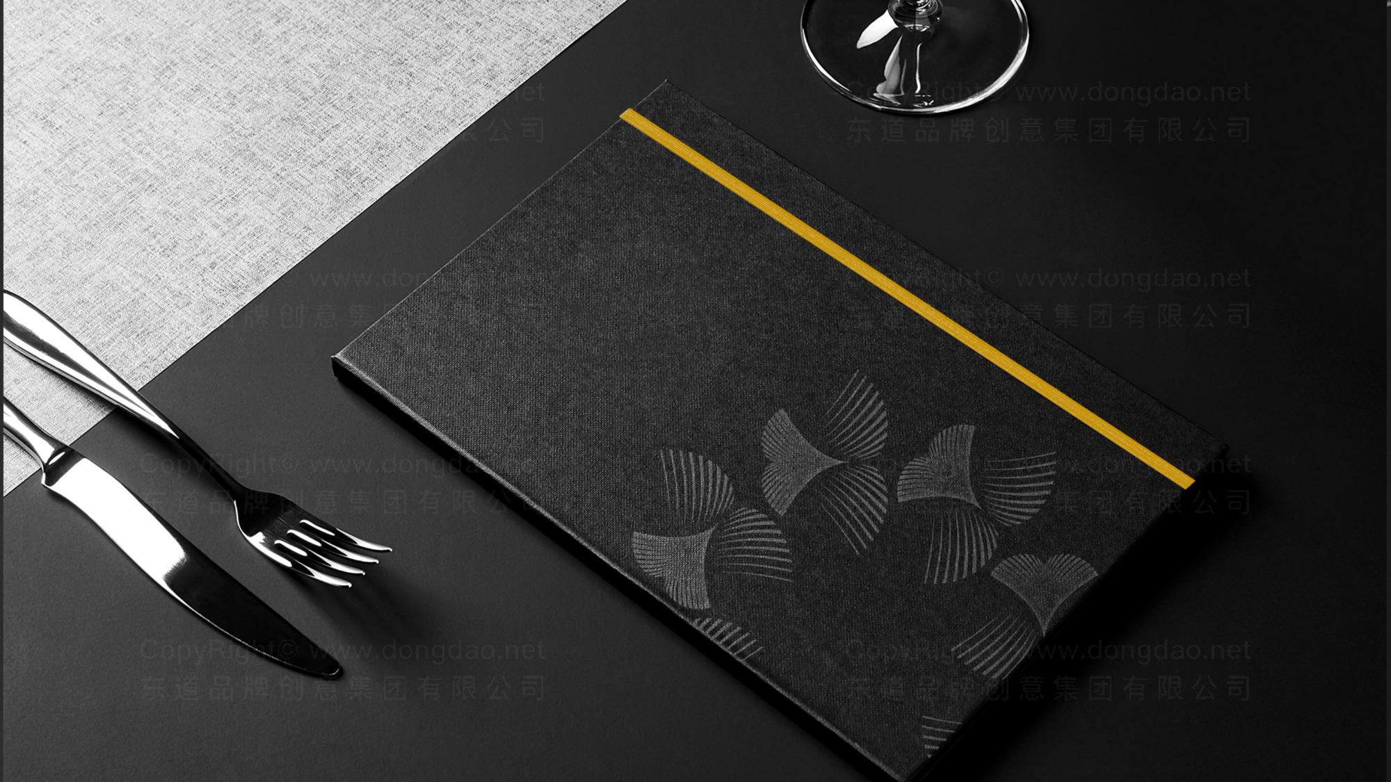 品牌设计半秋山西餐厅LOGO&VI设计应用