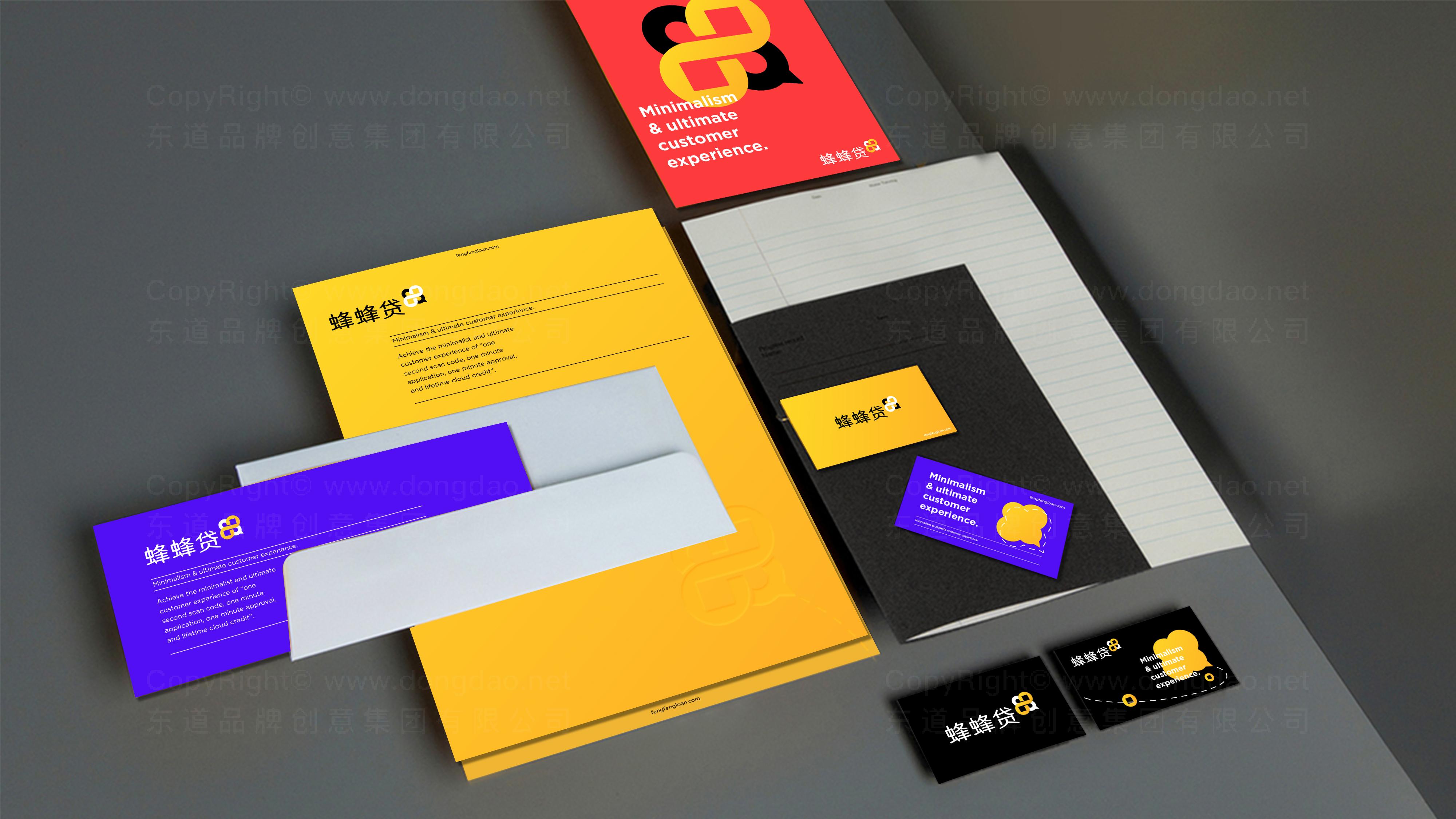 银行金融品牌设计蜂蜂贷LOGO&VI设计