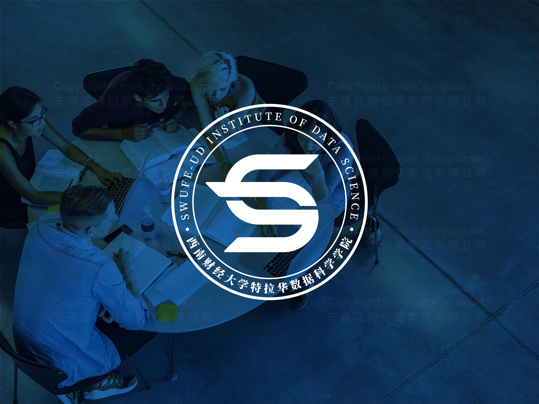 品牌设计西南财大-特拉华学院logo设计、vi设计应用场景_4