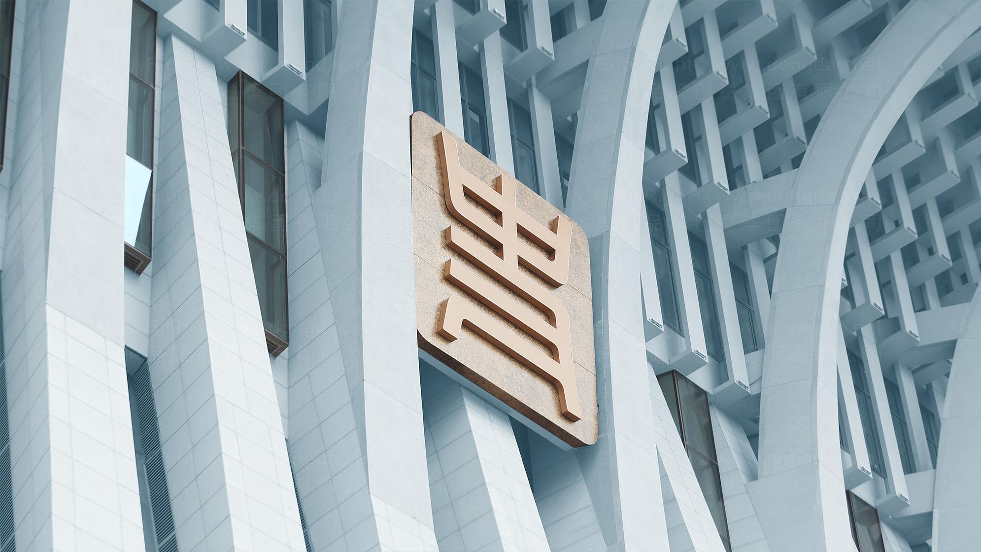 品牌设计中国历史研究院LOGO&VI设计应用