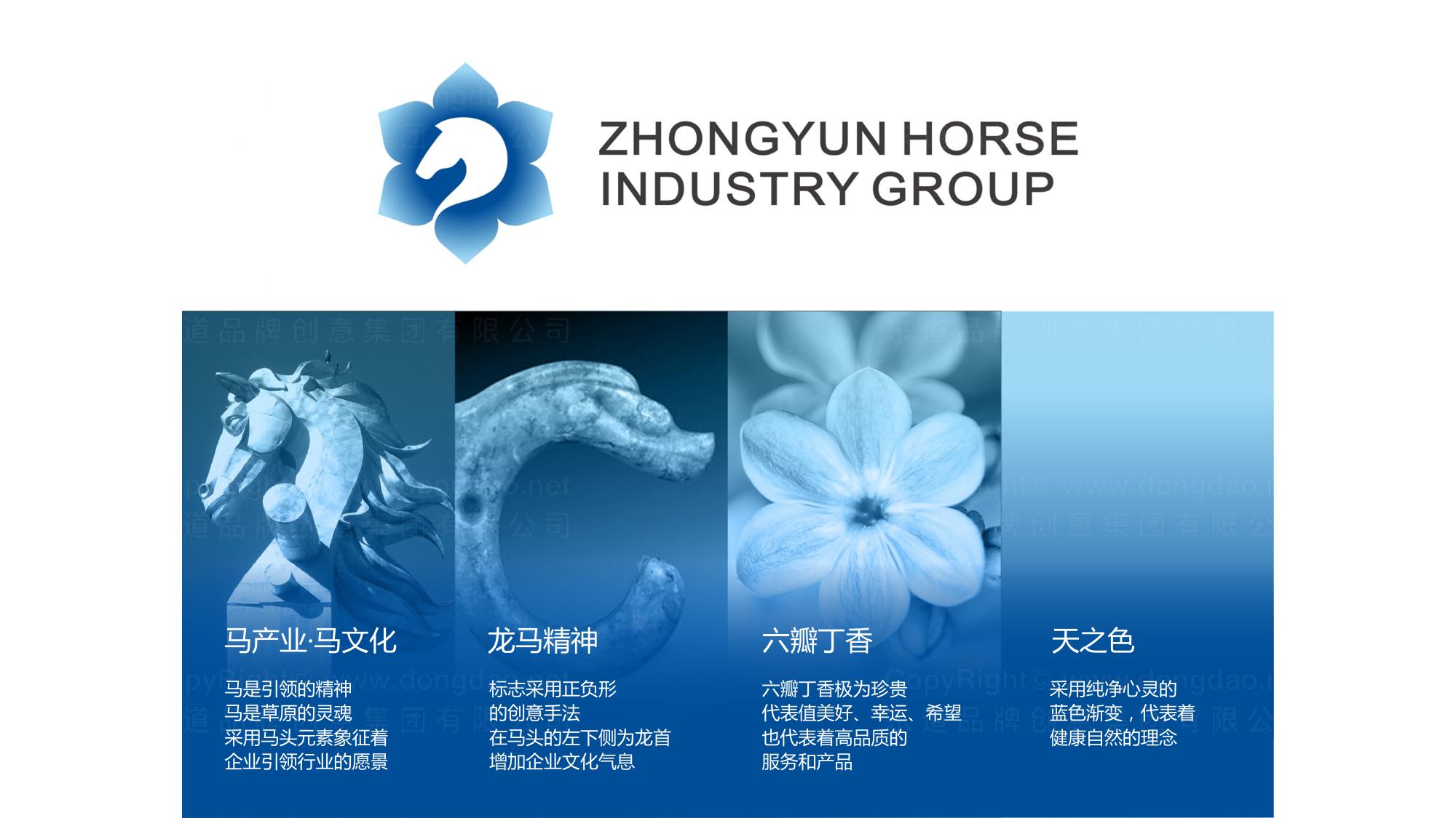 品牌设计中蕴马产业集团LOGO&VI设计应用
