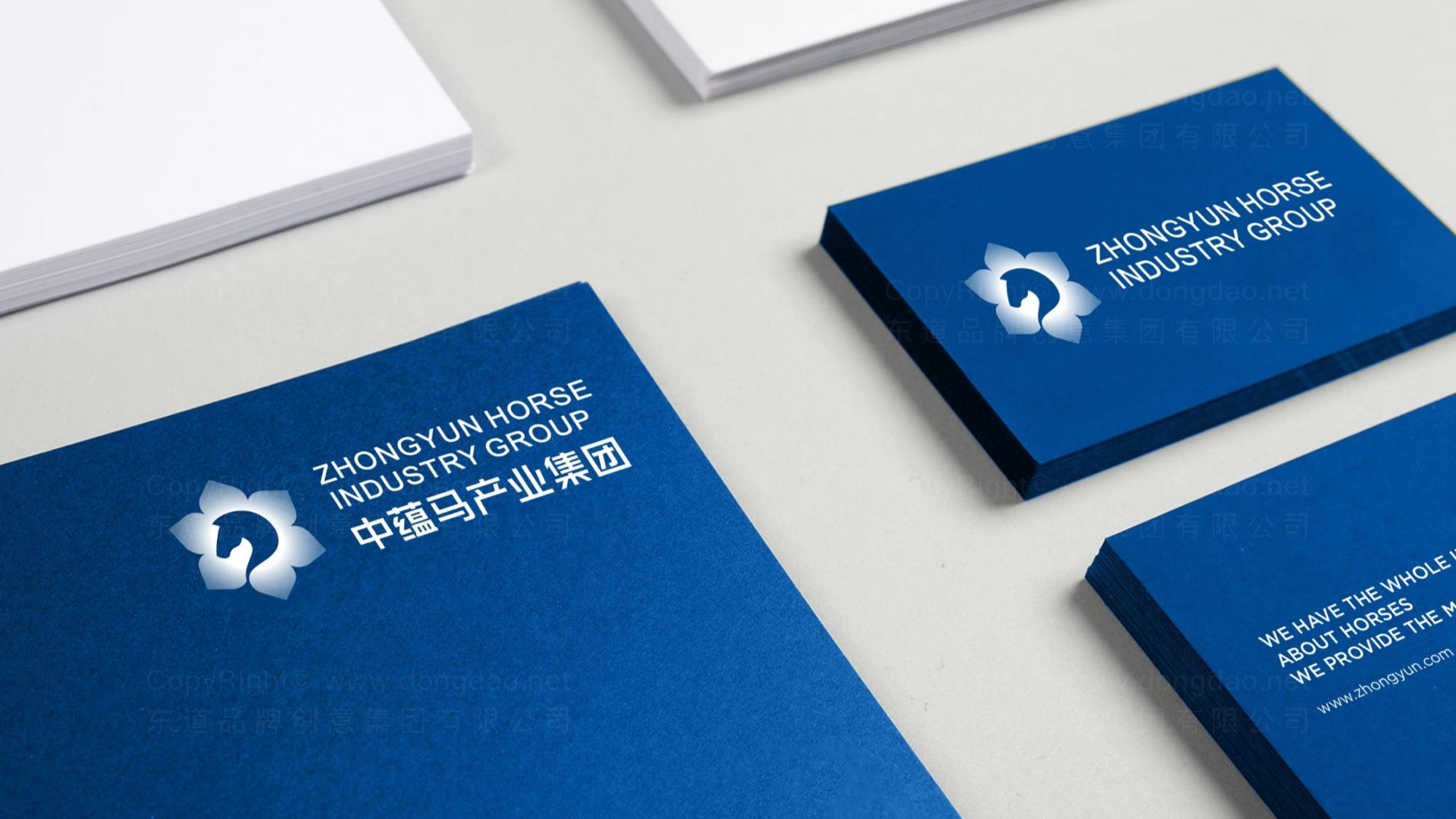 品牌设计中蕴马产业集团LOGO&VI设计应用场景_1