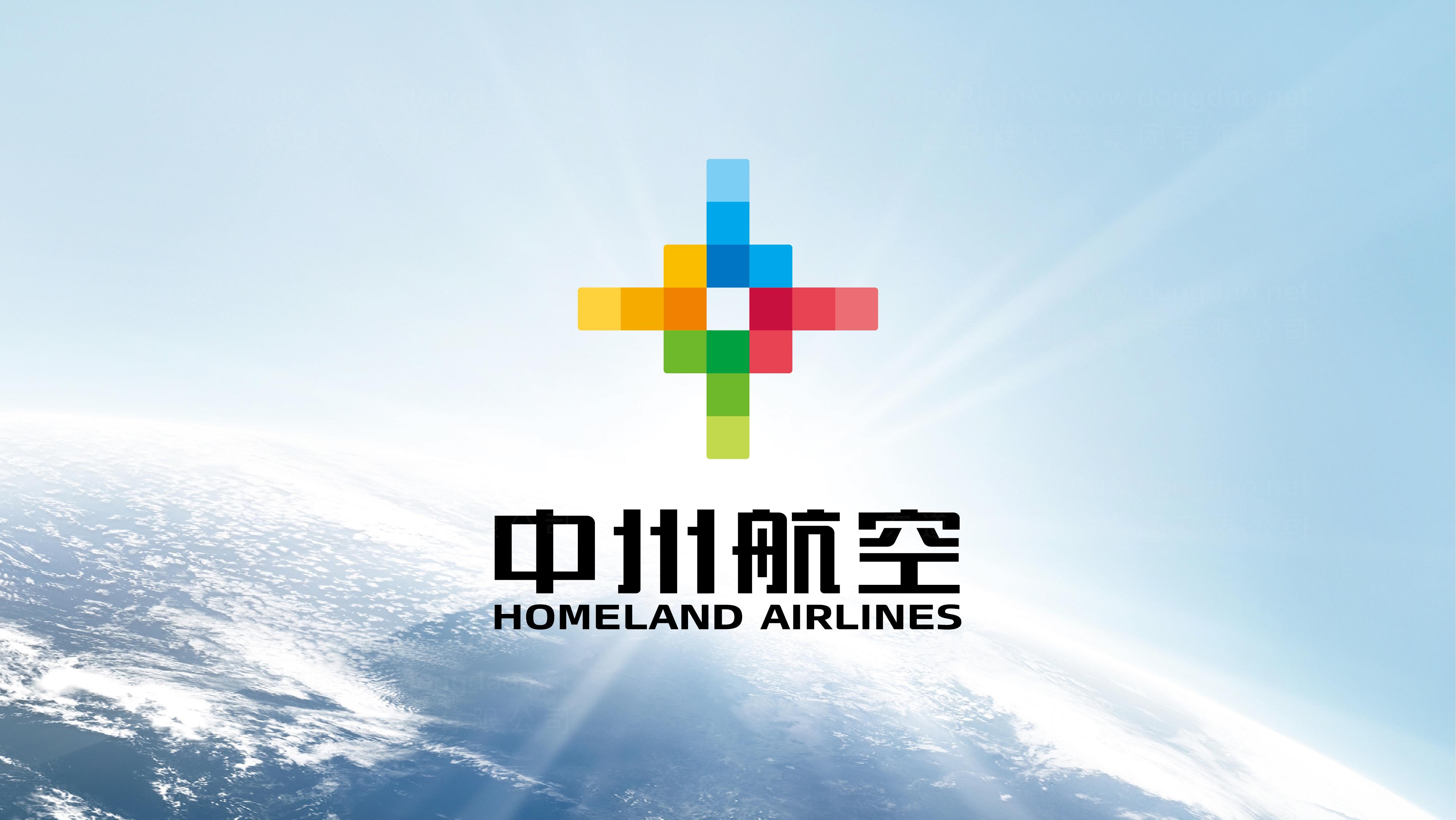 品牌设计案例中州航空LOGO&VI设计
