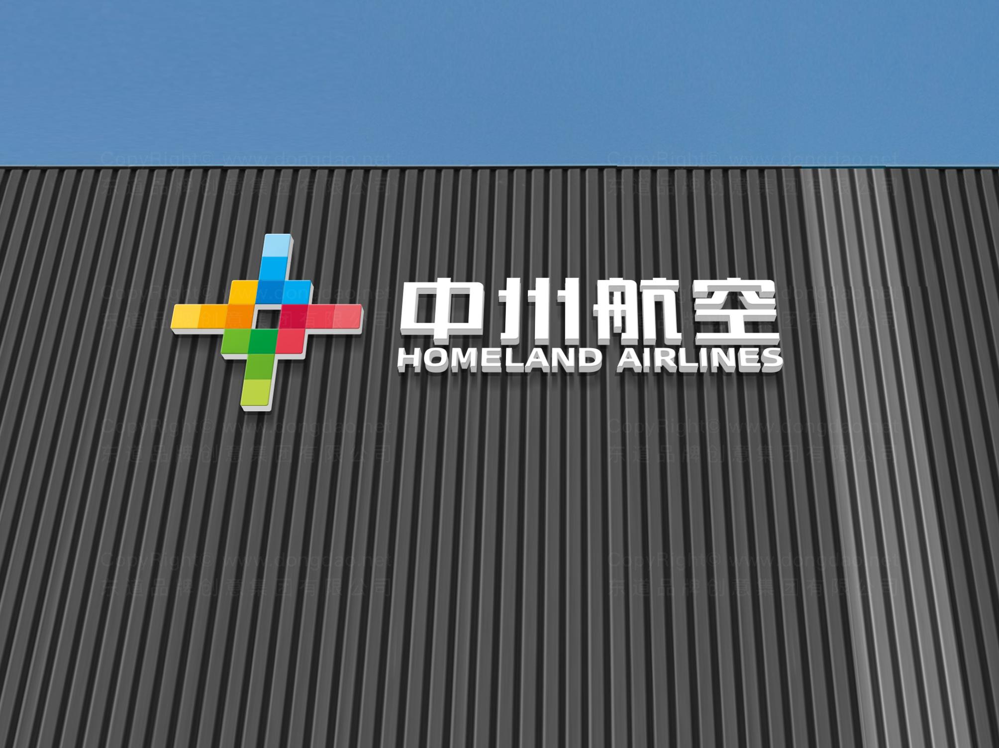 品牌设计中州航空LOGO&VI设计应用场景_3