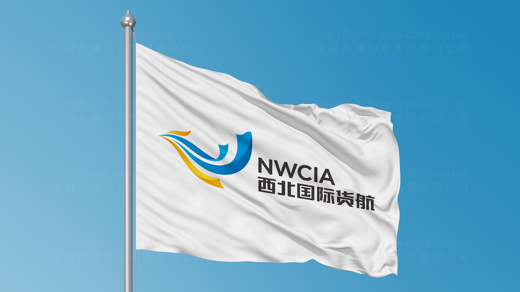 品牌设计西北国际货运航空LOGO&VI设计应用场景_2