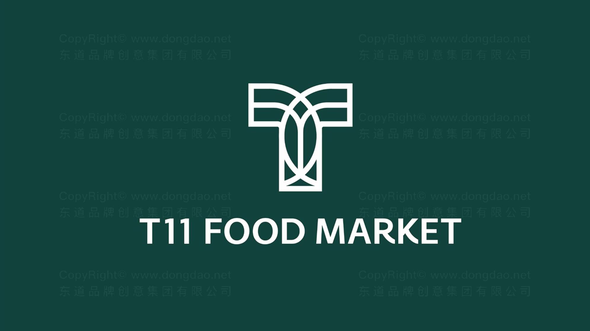 品牌设计案例T11超市LOGO&VI设计