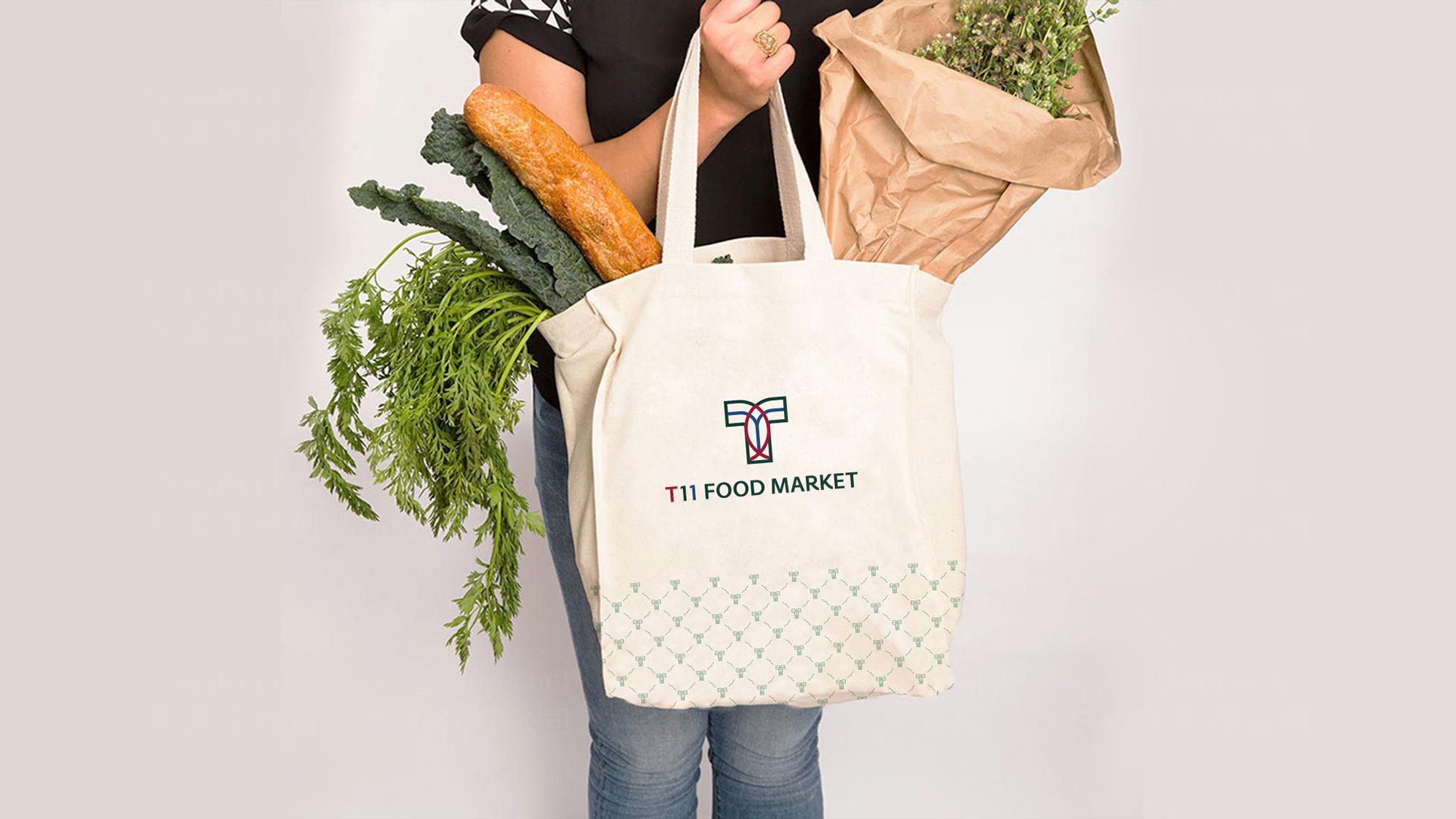 品牌设计T11超市LOGO&VI设计应用场景_8