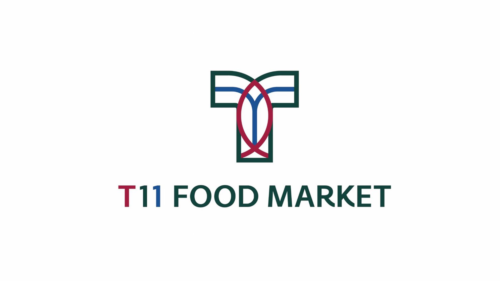 零售购物品牌设计T11超市LOGO&VI设计