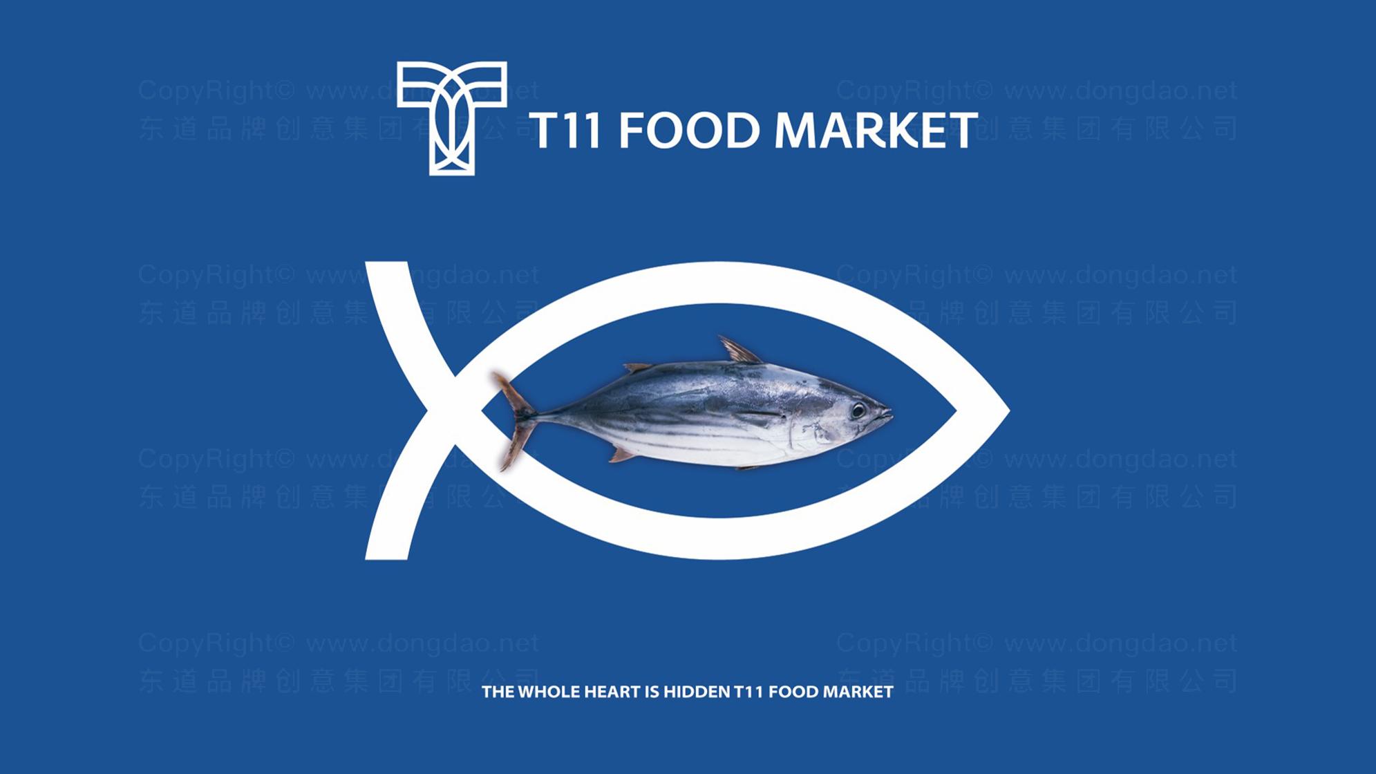 品牌设计T11超市LOGO&VI设计应用